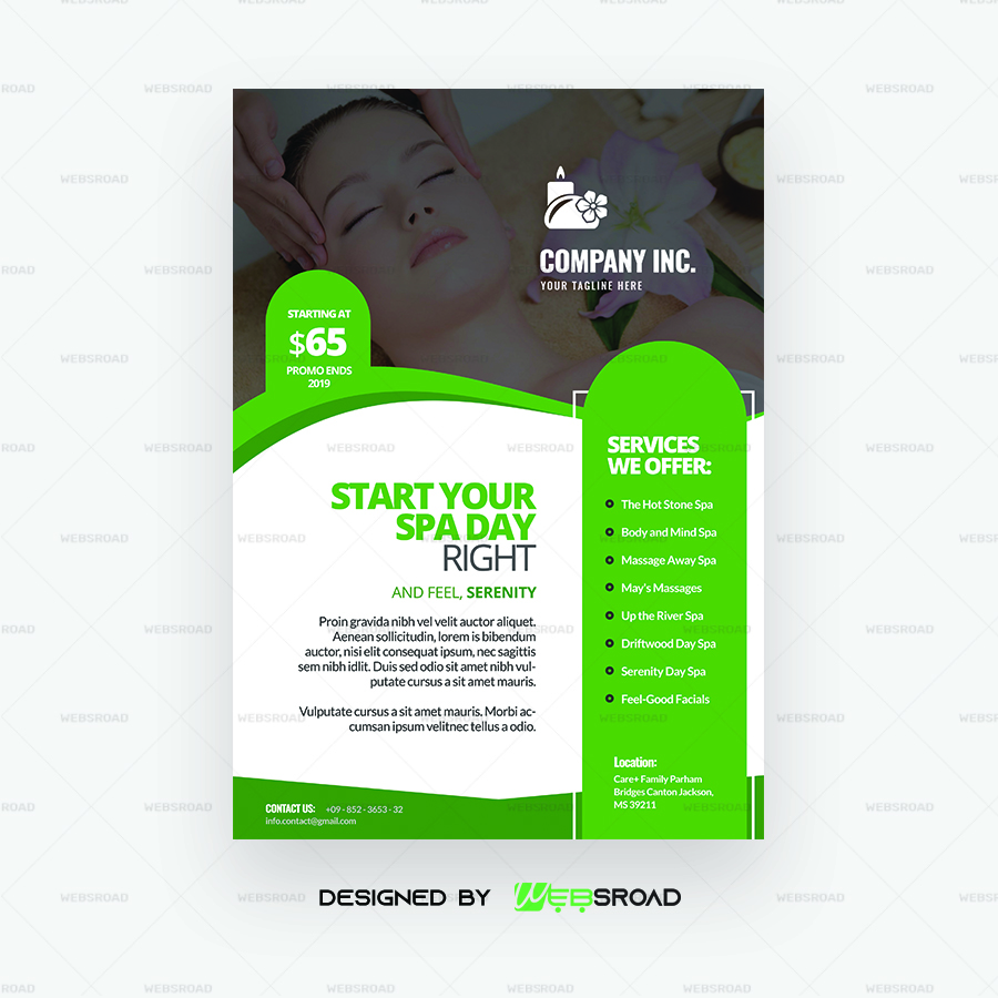 Free Flyer Template Downloads from websroad.com