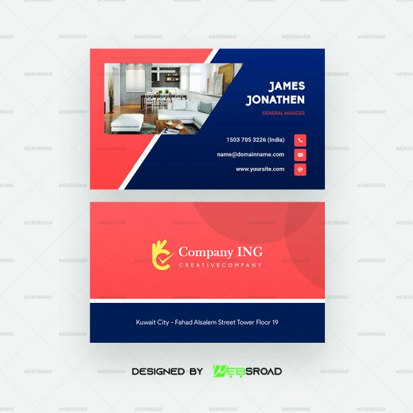 domri-abstract-white-visiting-card-template-free-download-websroad-WR3245‬-A