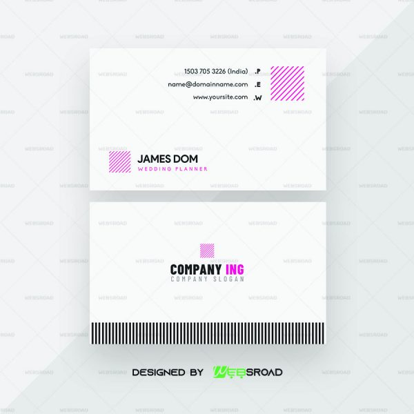 fareo-simple & minimal-business-card-template-premium-websroad-WR33434-A